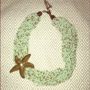 Jewelry - Seam-foam Starfish Necklace